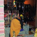 定例供養祈願祭の儀式