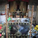 定例護摩焚きの儀式