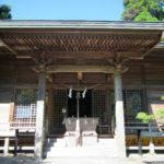 白鳥神社、参拝の様子