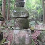 第10代住職墓石