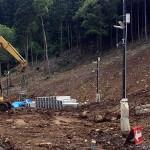 散水栓の移設