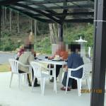 大護摩祈祷後の様子