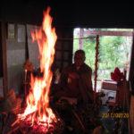 護摩木供養祈願祭の様子