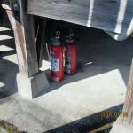 消火器の確認