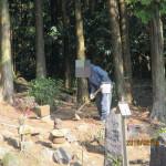 供養塔群の整備