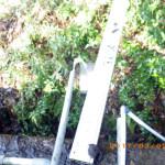 トイレ屋上の配管補修