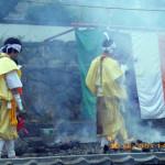 柴燈護摩供養祈願祭の様子