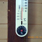 蛇堂内の気温(午後)