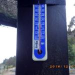 涅槃池前の気温(午後)