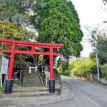 日枝神社と旧般若寺表参道